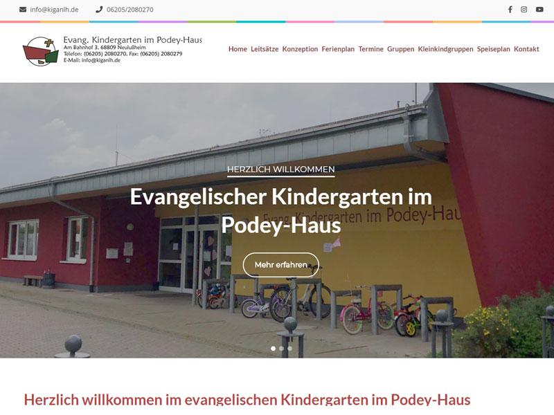 Evangelischer Kindergarten im Podey-Haus